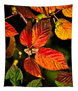 Colorful Blackberry Leaves 1 Tapestry