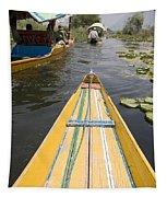 Colorful Boats On Dal Lake Dal Lake Tapestry