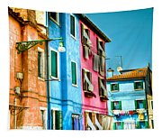 Colorful Burano Tapestry