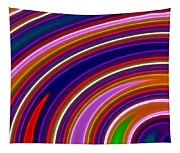 Colorful Swirls Tapestry