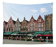 Colors Of Brugge Tapestry