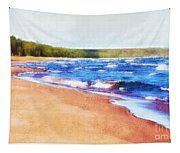 Colors Of Water Tapestry