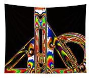 Colourful Geometry Tapestry