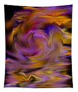 Colourful Swirl Tapestry