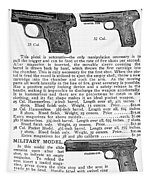 Colt Automatic Pistols Tapestry