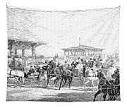 Coney Island, 1877 Tapestry