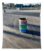 Coney Island Boardwalk Tapestry