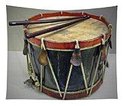 Confederate Drum Tapestry