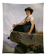 Contemplation Tapestry