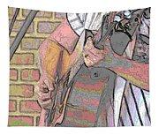 Contorno Guitarist 1 Tapestry