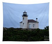 Coquille Lighthouse Tapestry
