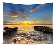 Coral Tides Tapestry