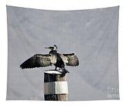 Cormorant Bird Tapestry