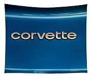 Corvette Badge Tapestry
