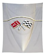 Corvette Emblem Tapestry