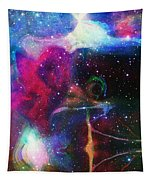 Cosmic Connection Tapestry