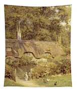 Cottage At Farringford Isle Of Wight Tapestry