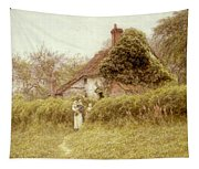 Cottage At Pinner Middlesex Tapestry