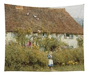 Cottage At West Horsley Surrey Tapestry