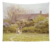 Cottage Freshwater Isle Of Wight Tapestry