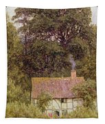 Cottage Near Brook  Tapestry