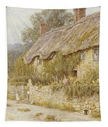 Cottage Near Wells Somerset Tapestry