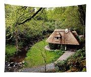 Cottage Ornee Tearoom, Kilfane Glen, Co Tapestry
