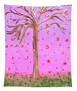 Cotton Candy Sky Wishing Tree Tapestry