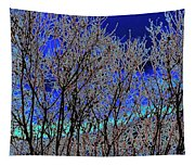 Cottonwood Line Up Tapestry