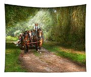 Country - Horse - The Hay Ride  Tapestry