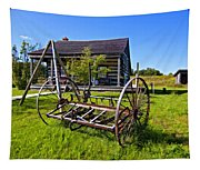 Country Classic Paint Filter Tapestry