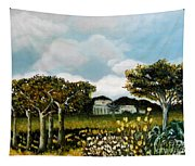 Country Garden Tapestry