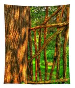 Country Gate Tapestry