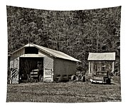 Country Life Sepia Tapestry