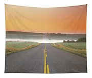 Countryside Road Tapestry