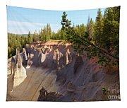 Crater Lake Pinnacles Tapestry