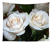 Creamy Roses I Tapestry