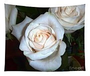 Creamy Roses IIi Tapestry