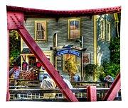 Creek Street - Ketchikan Alaska Tapestry
