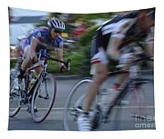 Criterium Bicycle Race 4 Tapestry