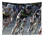 Criterium Bicycle Race 6 Tapestry