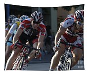 Criterium Bicycle Race 7 Tapestry