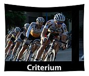 Criterium With Caption Tapestry