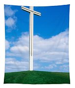 Cross Built For The Late Pope John Paul Tapestry