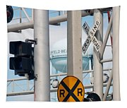 Crossing Signs Tapestry