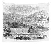 Croton Dam, 1860 Tapestry