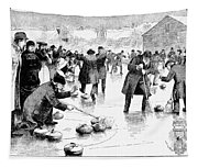 Curling, 1884 Tapestry