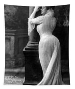 Curves In Black And White Tapestry