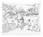 Daily Life In South And Center Cameroon 02 Tapestry