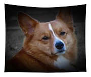 Daisie Our Corgi Tapestry